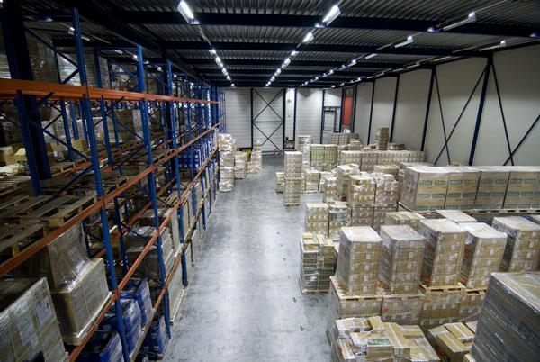 high bay warehouse space