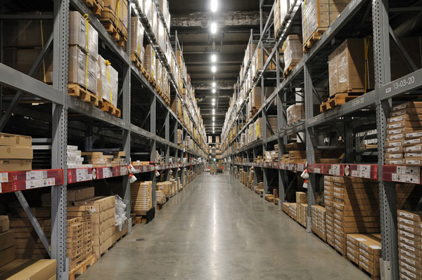 warehouse racking